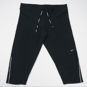 Nike Dri Fit Running Capri Leggings Pants Medium